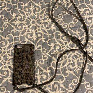 Bandolier iphone 8+ case
